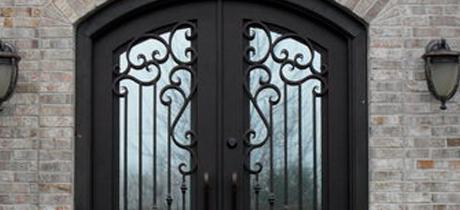 puertas metálicas exterior camarma de esteruelas